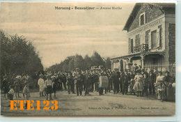 Morsang Sur Orge - Beauséjour - Avenue Marthe - Fanfare - Musiciens - Restaurant  - 91 Essonne - Morsang Sur Orge
