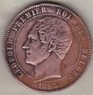 Belgique .Module De 10 Centimes 1853 Mariage Du Duc Et De La Duchesse De Brabant - 1831-1865: Leopold I
