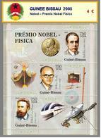 2005 - GUINEE BISSAU -  Nobel – Premio Nobel Fisica - Guinea-Bissau