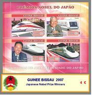 2007 - GUINEE BISSAU -  Japanese Nobel Prize Winners - Guinea-Bissau