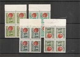 Algérie ( Timbres Préoblitérés 20/24 En Blocs De 4 XXX -MNH) - Algeria (1962-...)