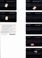 7 X ALTE TAXCARD + 1 X SWISS TELECOM  -- - Schweiz