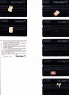 7 X ALTE TAXCARD + 1 X SWISS TELECOM  -- - Switzerland