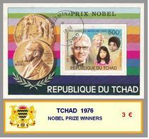 1976 - TCHAD - NOBEL PRIZE WINNERS - Ciad (1960-...)