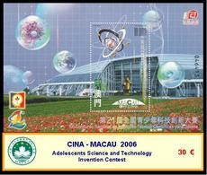 2006 - CINA - MACAU - Adolescents Science And Technology  Invention Contest - Blocchi & Foglietti