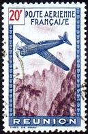 Réunion Obl. N° PA 16 - Avion Survolant L'île - Réunion (1852-1975)
