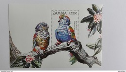 Zambia 1998** Bl.41. Parrots MNH [12;88] - Oiseaux