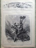 L'illustrazione Popolare 25 Novembre 1883 Guerra Sudan Amazzoni Dahomey Giappone - Ante 1900