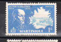 MARTINIQUE YT 206  Oblitéré - Martinique (1886-1947)