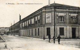 CPA - PUTEAUX (92) - Aspect De L'Usine D'Automobiles CHARRON De La Rue Volta En 1915 - Puteaux