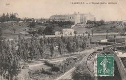 Rare Cpa  Granville L'hôpital Civil Et Militaire - Granville
