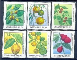 K69- Set Of Fruits. Zimbabwe. Plants. Trees. - Fruits