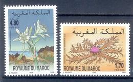 K70- Set Of Flowers. Maroc Morocco 1994. - Plants