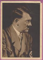 Orig. Foto AK, Der Reichskanzler Adolf Hitler ,Führer,Werbung Bücher Der Bewegung,BB Pioniere,rar,Werbekarte - Guerre 1939-45