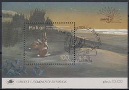 PORTUGAL 1985 HB - 49 USADA (1º DIA) - Hojas Bloque