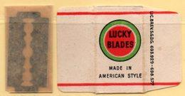 Rasage. Razor Blade. Lame De Rasoir. Lame Lucky Blade. Made In American Style. - Lames De Rasoir