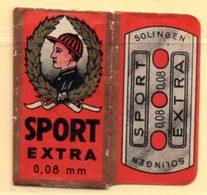 Rasage. Razor Blade. Lame De Rasoir. Lame Sport Extra. Made In Germany. - Lames De Rasoir