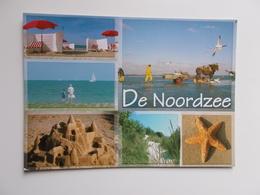 DE NOORDZEE - KUST -  , Groeten Uit .......... Un Bonjour De ........ - België