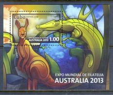 K80- Cuba 2013. Australia Stamp Exhibition 2013. - Philatelic Exhibitions