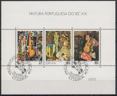 PORTUGAL 1988 HB-60 USADA (1º DIA) - Hojas Bloque