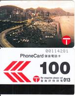 HONG KONG - Dusk Approaches At Causeway Bay, Hong Kong Telecom Telecard $100, Tirage 22000, 02/90, Used - Hong Kong
