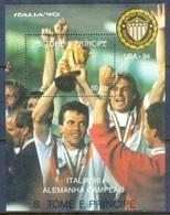 K85- Soccer Football Sao Tome E Principe. Italia 90. - World Cup