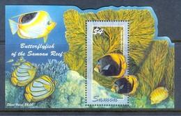 K86- Samoan Samoa 2004 Fish Corals Marine Life. - Fishes