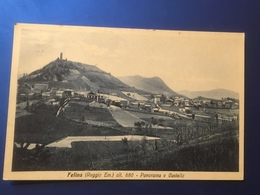 Felina ( Reggio Em. ) Panorama E Castello Viaggiata 1933 - Reggio Emilia