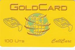 Denmark, CallCare, GoldCard, 2 Scans.  Also UK - Denmark