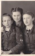 Foto HJ Hitlerjugend BDM Bund Deutscher Mädel Zöpfe Nauern 2.Weltkrieg Ww2 39-45 - War, Military