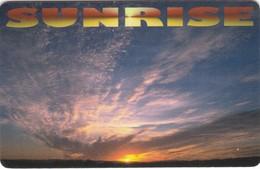 Denmark, Sunrise, 2 Scans. - Denmark