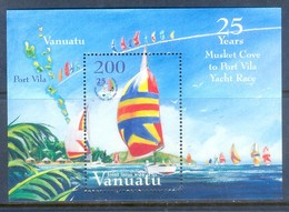 K89- VANUATU 2004. MUSKET COVE SAIL CHAMPIONSHIP. JOINT ISSUE WITH FIJI. - Joint Issues