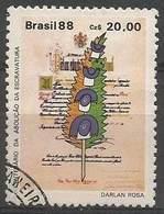 LSJP BRAZIL 100 YEARS ABOLITION OF THE SCRIPTURE 1988 - Oblitérés