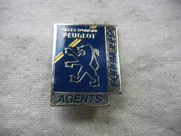Pin's Forum Des Agents PEUGEOT En 1992. Pieces D'origine Peugeot - Peugeot