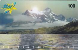 Denmark, Star Telephone Cards, Mountains, 2 Scans. - Denmark