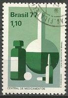 LSJP BRAZIL MEDICINES CENTER 1977 - Oblitérés