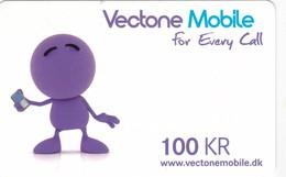 Denmark, 100 Kr. Vectone Mobile, 2 Scans. - Denmark