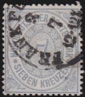Nord      .    Michel    .     22      .       O           .       Gebraucht     .   /   .    Cancelled - Norddeutscher Postbezirk