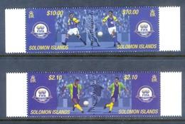 K99- Solomon Island 2004. 100 Years Of FIFA. Soccer. Football Fodbold Futbol Calcio Fotboll. - Soccer