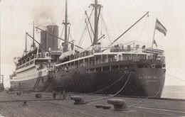 Foto Albert Ballin Hamburg-Amerika-Linie New York Schiff Um 1925 - Schiffe