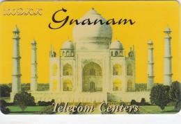Denmark, GNA-DM-08.2, Taj Mahal - Gnanam - 100 DKK, 2 Scans.   Exp : 25/15/2000 - Denmark