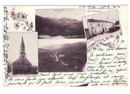 DE1476 FRANCE  STEIGE HOTEL ZUM GOLDENEN KREUZ UND POSTAGENTUR  POSTCARD - Frankreich