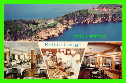 CAP BRETON, NOVA SCOTIA - KELTIC LODGE, AERIAL VIEW -  4 MULTIVIEWS - C. & G. MACLEOD LTD - - Cape Breton
