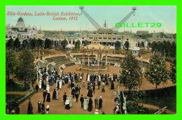 EXHIBITION - ELITE GARDENS, LATIN-BRITISH EXHIBITION, LONDON 1912 - VALENTINE & SONS LTD - - Expositions