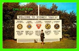 CAOE BRETON, NOVA SCOTIA - WELCOME TO SYDNEY - LEN LEIFFER - - Cape Breton