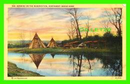 INDIENS - SUNRISE ON THE RESERVATION, NORTHWEST INDIAN HOME -  LEE MOOREHOUSE - WESLEY ANDREWS CO - - Indiens De L'Amerique Du Nord