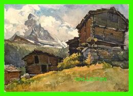ARTS, PEINTURES - MATTERHORN, LE CERVIN, SUISSE - EDITION STEHLI - - Peintures & Tableaux