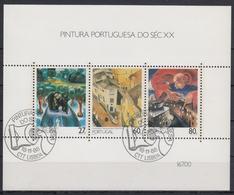 PORTUGAL 1988 HB-62 USADA (1º DIA) - Hojas Bloque