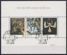 PORTUGAL 1989 HB-64 USADA (1º DIA) - Hojas Bloque