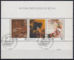 PORTUGAL 1990 HB-71 USADA (1º DIA) - Hojas Bloque